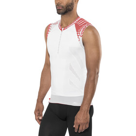 Compressport Trail Running Camiseta sin mangas, white